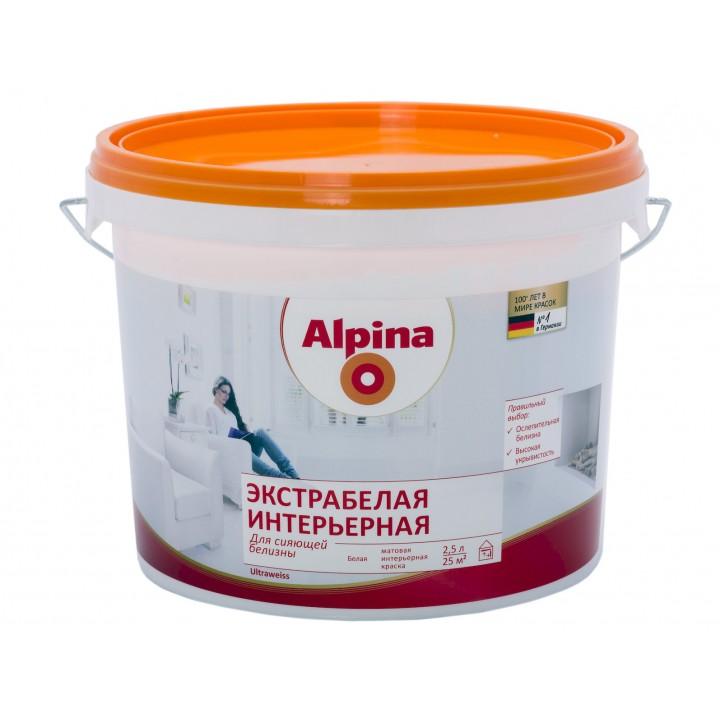 Alpina Экстрабелая краска интерьерная
