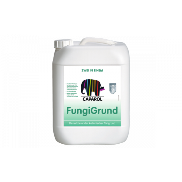 Caparol FungiGrund грунт для предварительной обработки