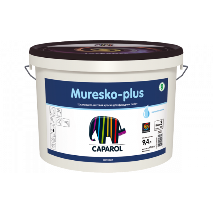 Caparol Muresko-plus краска фасадная