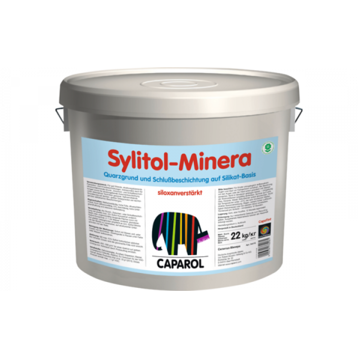 Caparol Sylitol Minera грунтовка и финишное покрытие