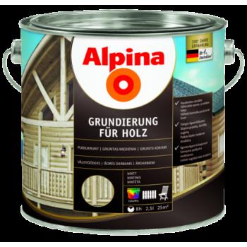 Alpina Grundierung fuer Holz антисептик лессирующий грунт для дерева