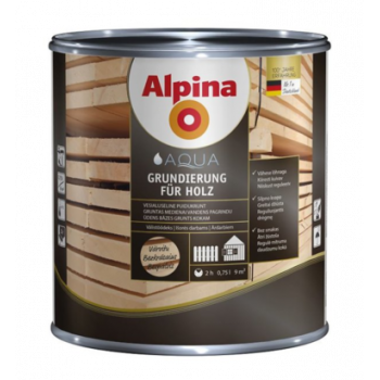 Alpina Aqua Grundierung fuer Holz антисептик лессирующий грунт для дерева