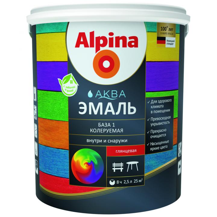 Alpina Аква Эмаль акриловая