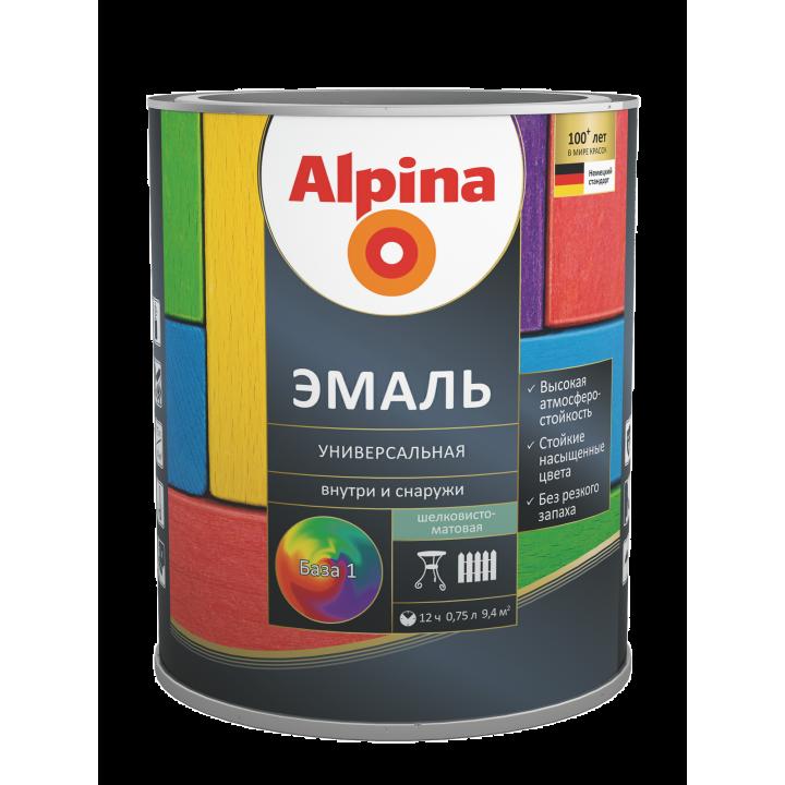 Alpina Эмаль универсальная алкидная
