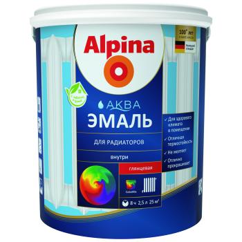 Alpina Аква Эмаль для радиаторов акриловая
