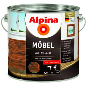 Alpina Mobel лак для мебели