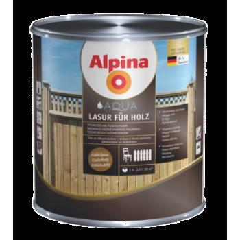 Alpina Aqua Lasur fuer Holz лазурь для дерева