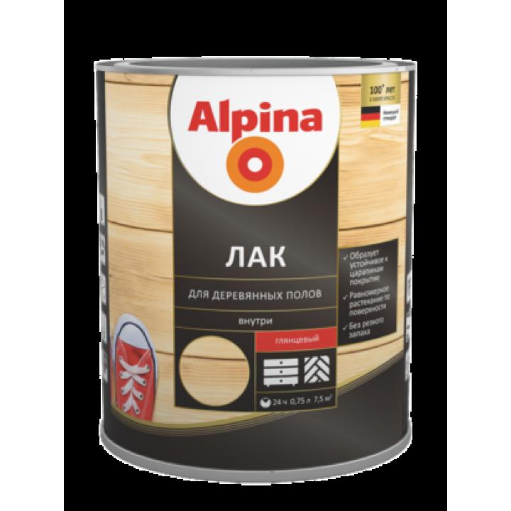 Alpina Лак для деревянных полов