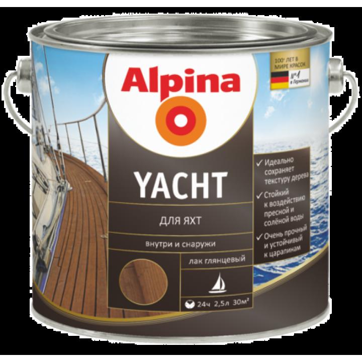 Alpina Yacht лак для яхт