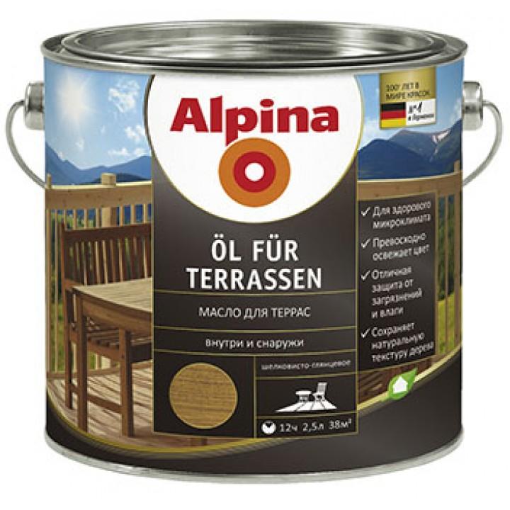 Alpina Oel fuer Terrassen масло для террас