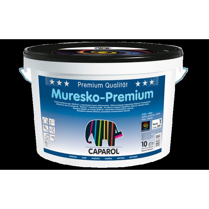 Caparol Muresko-Premium краска фасадная высококачественная