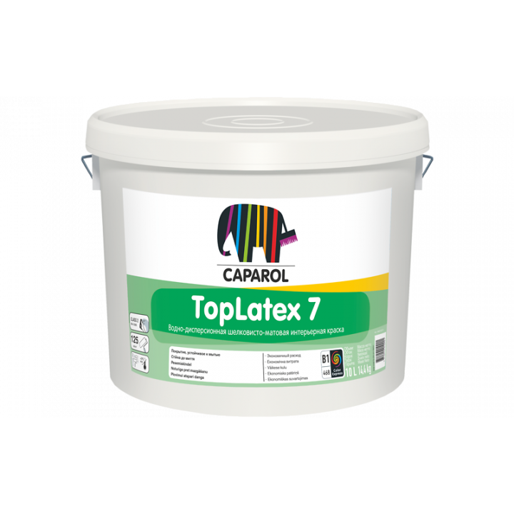 Caparol TopLatex 7 краска интерьерная
