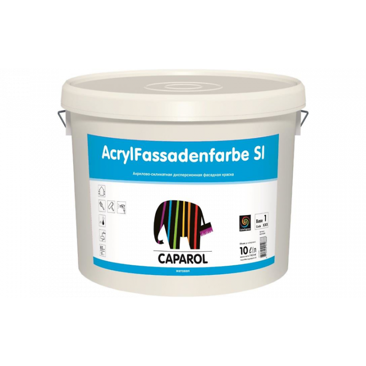 Caparol AcrylFassadenfarbe SI краска фасадная атмосферостойкая
