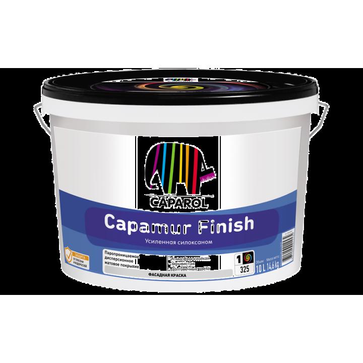 Caparol Capamur Finish краска водоотталкивающая с защитой от водорослей и грибков
