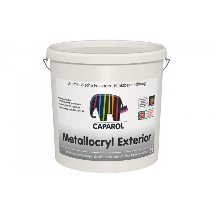 Caparol Capadecor Metallocryl Exterior декоративное покрытие