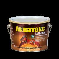 АКВАТЕКС - БАЛЬЗАМ натуральное масло для древесины