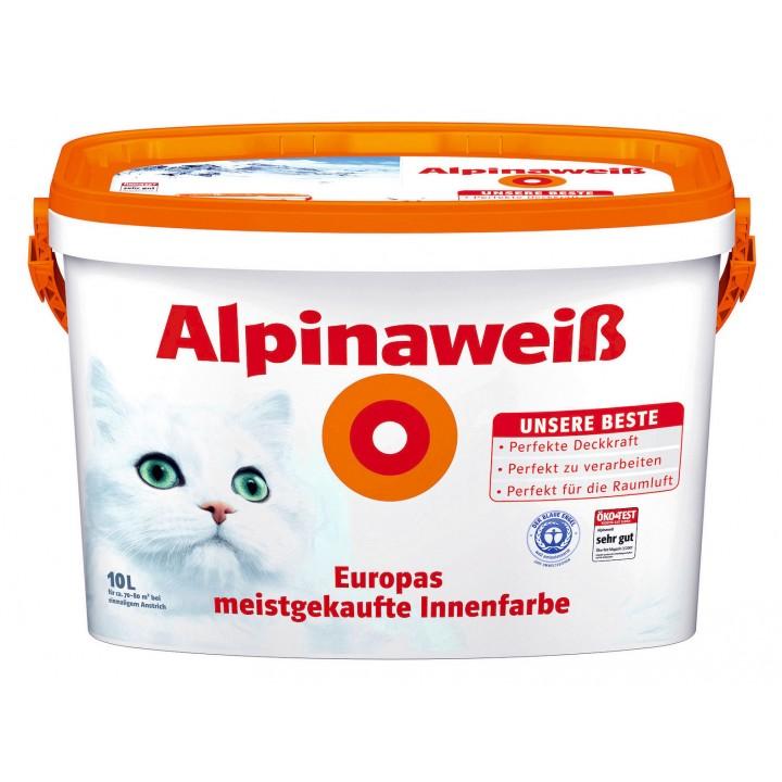 Alpina AlpinaWeiss краска для внутренних работ