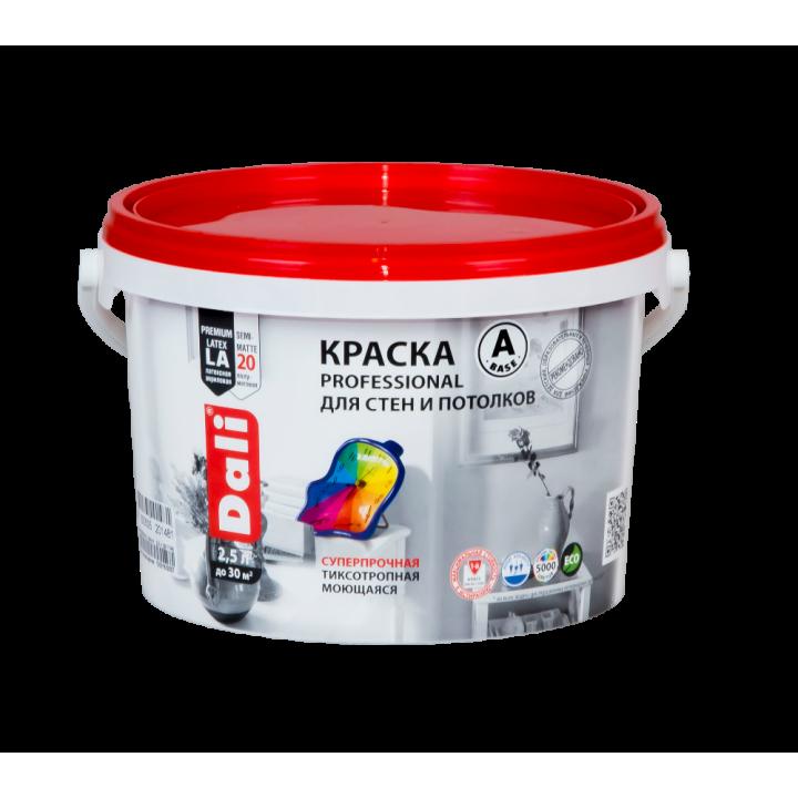 DALI PROFESSIONAL 20 краска для стен и потолков акриловая полуматовая