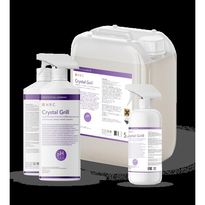 Crystal Grill средство для очистки и обезжиривания коптильных камер, печей, грилей