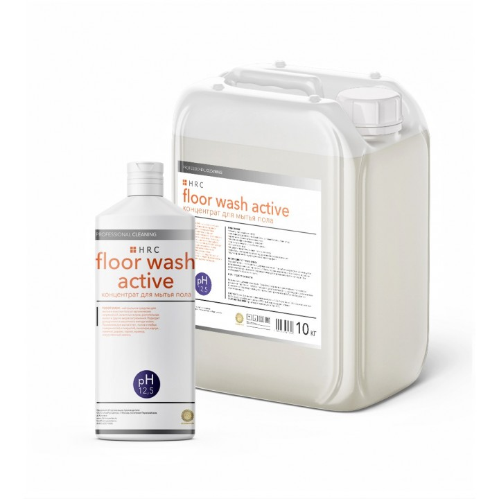 Floor wash active средство для мытья пола и твердых поверхностей