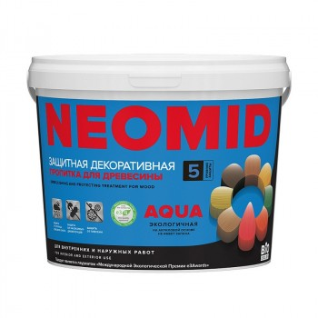 NEOMID BiO COLOR Aqua - деревозащитный лессирующий декоративный состав