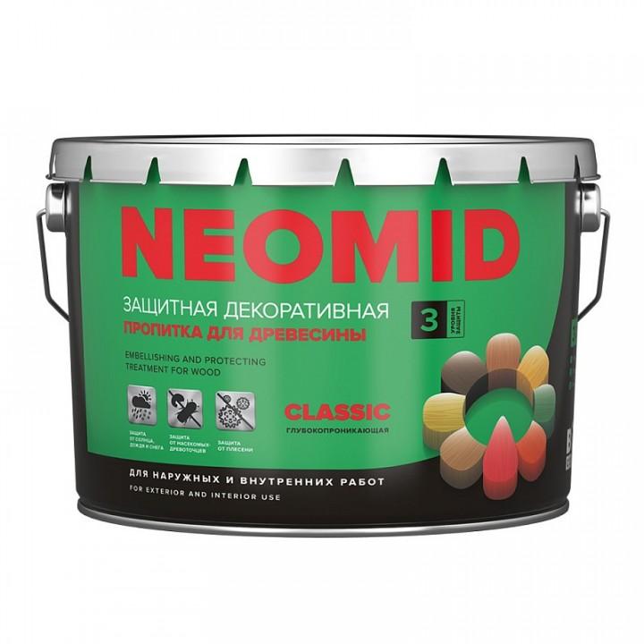 NEOMID BiO COLOR Classic  деревозащитный лессирующий декоративный состав