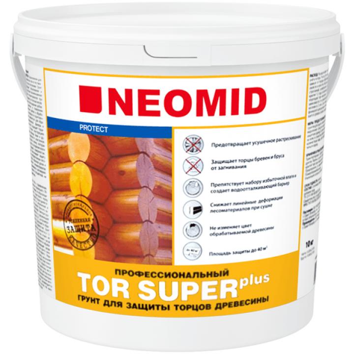 NEOMID TOR PLUS SUPER состав для защиты торцов бревен, бруса