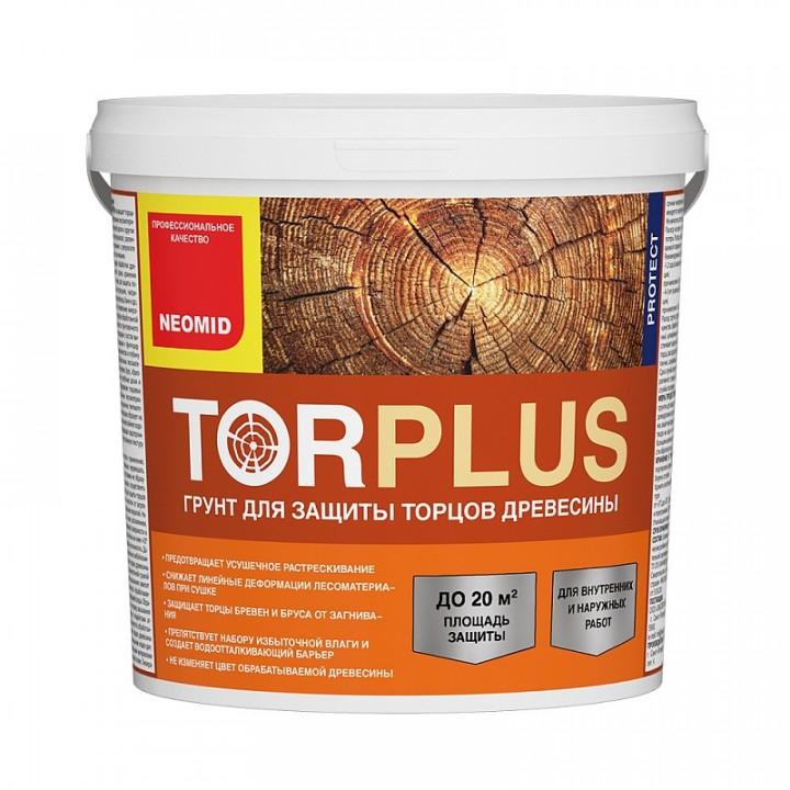 NEOMID TOR PLUS состав для защиты торцов бревен, бруса