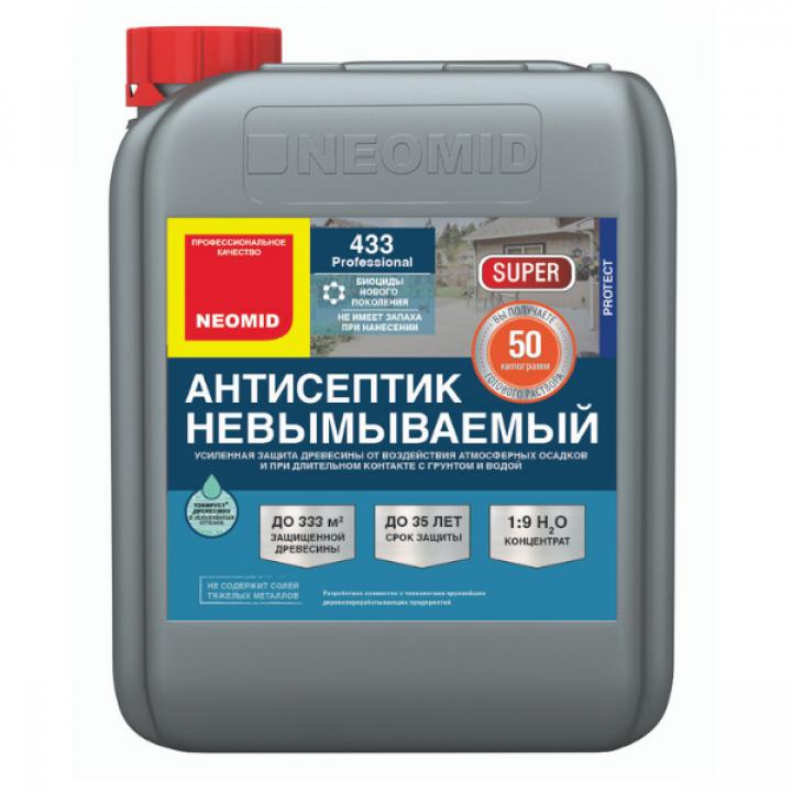 NEOMID 433 SUPER ECO антисептик невымываемый усиленный