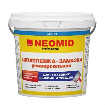 NEOMID ШПАТЛЕВКА-ЗАМАЗКА УНИВЕРСАЛЬНАЯ для заделки глубоких выбоин и трещин