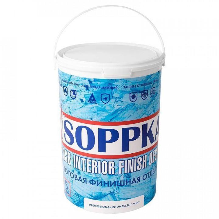 SOPPKA OSB Interior Finish Decor краска белая
