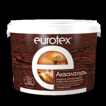 EUROTEX АКВАЛАЗУРЬ акриловый лак для дерева