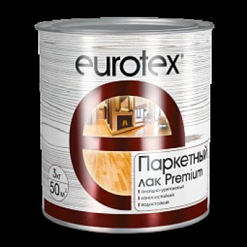 EUROTEX PREMIUM лак паркетный алкидно-уретановый