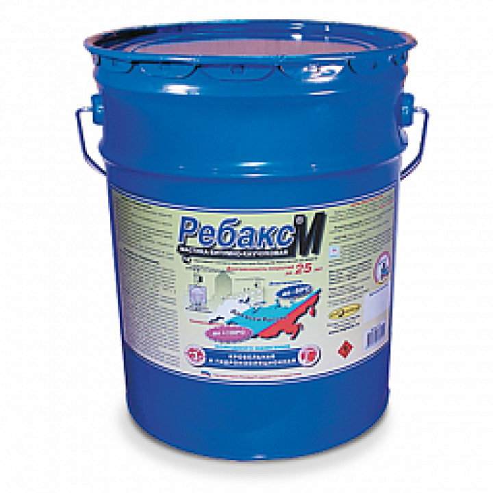 РЕБАКС-М гидроизоляционная кровельная мастика