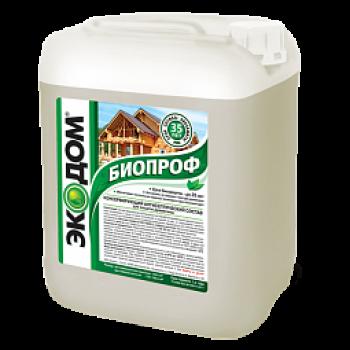 ЭКОДОМ БИОПРОФ консервирующий антисептик для защиты древесины