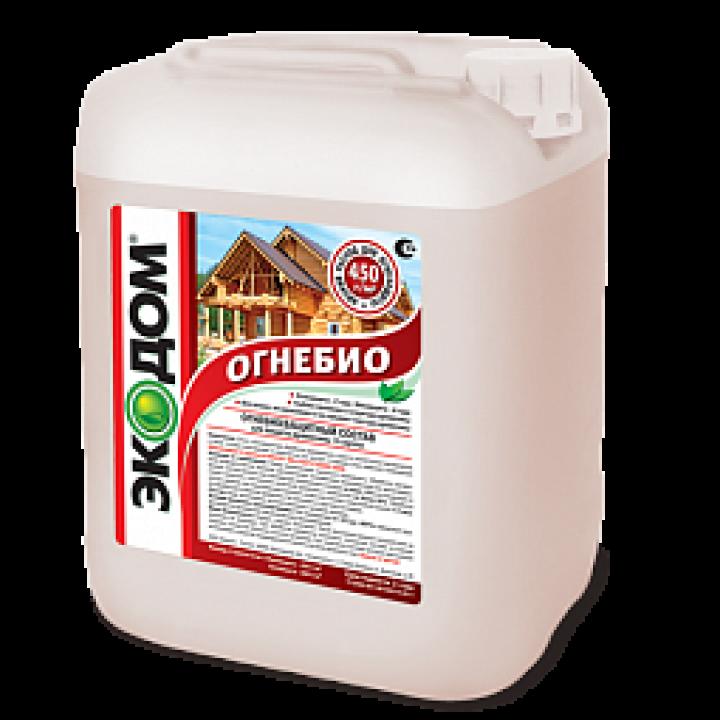 ЭКОДОМ ОГНЕБИО (II группа) огнебиозащита для древесины