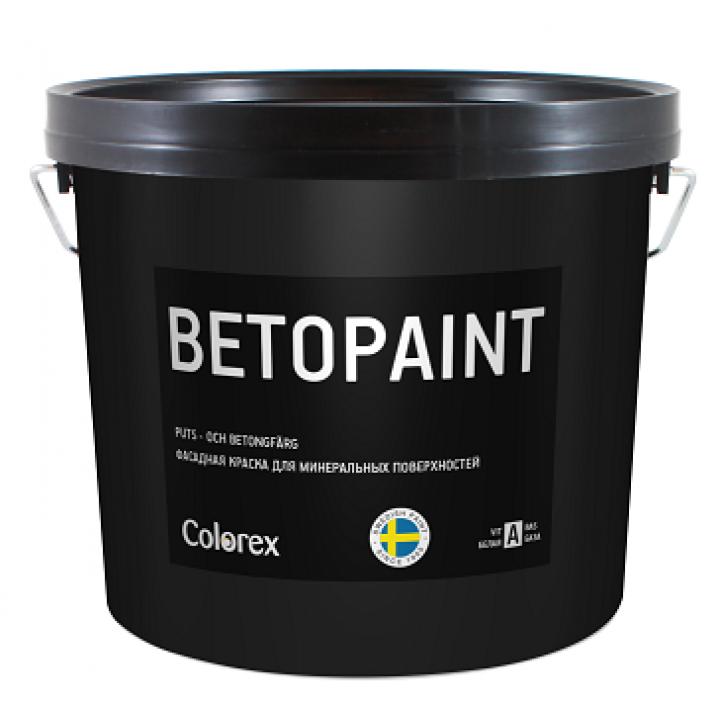 COLOREX BETOPAINT краска акриловая для минеральных фасадов