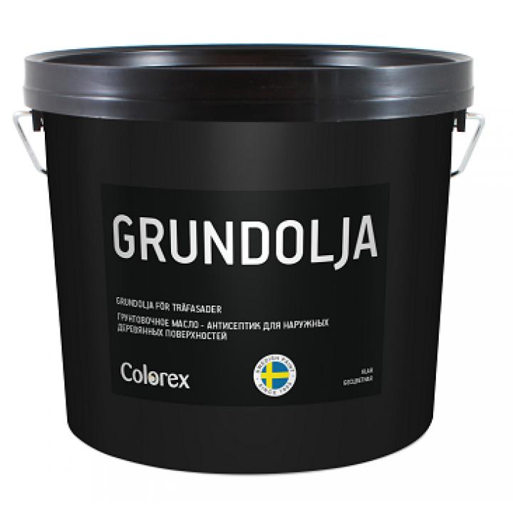 COLOREX GRUNDOLJA масло грунтовочное для наружных деревянных поверхностей
