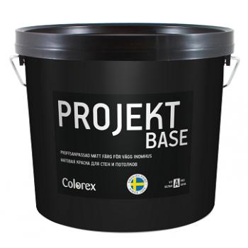COLOREX PROJEKT BASE краска для внутренних работ