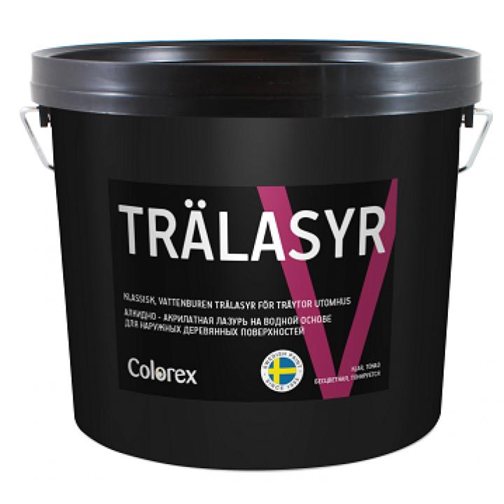COLOREX TRALASYR V  лазурь алкидно-акрилатная для наружных деревянных поверхностей