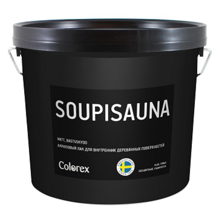 COLOREX SOUPISAUNA лак акриловый для внутренних деревянных поверхностей