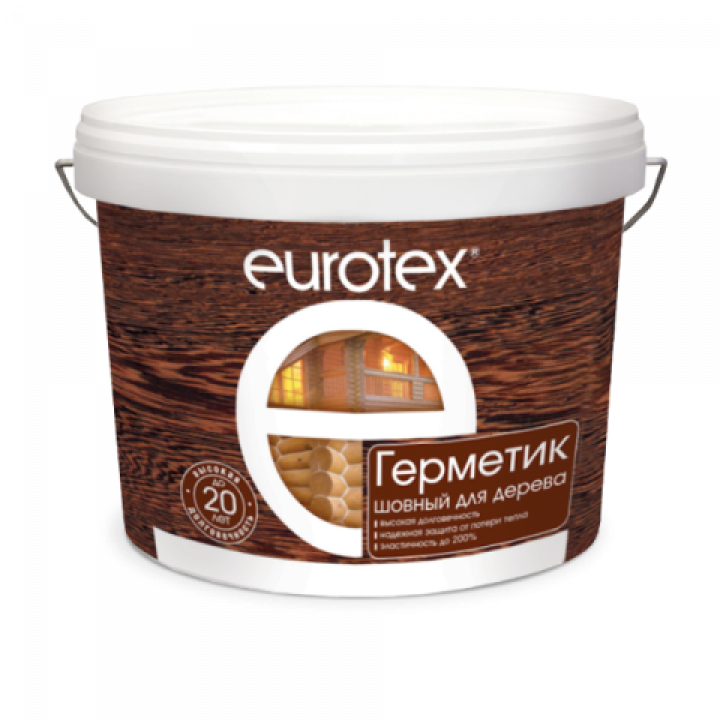 EUROTEX Герметик для дерева акриловый