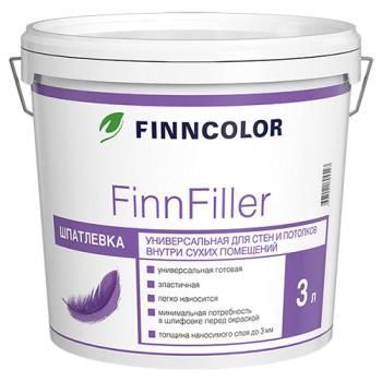 FINNCOLOR FINNFILLER шпатлевка финишная универсальная