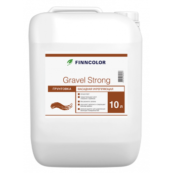 FINNCOLOR GRAVEL STRONG грунтовка фасадная укрепляющая