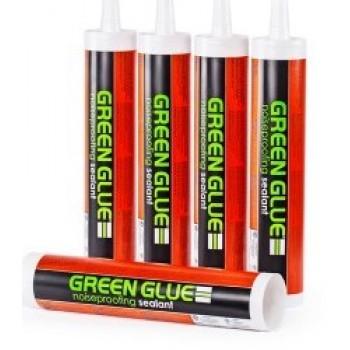GREEN GLUE звукоизоляционный герметик для швов