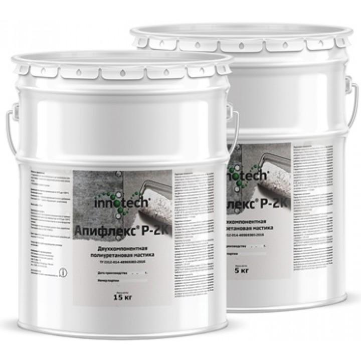 INNOTECH APIFLEX R-2K гидроизоляционная двухкомпонентная полиуретановая мастика