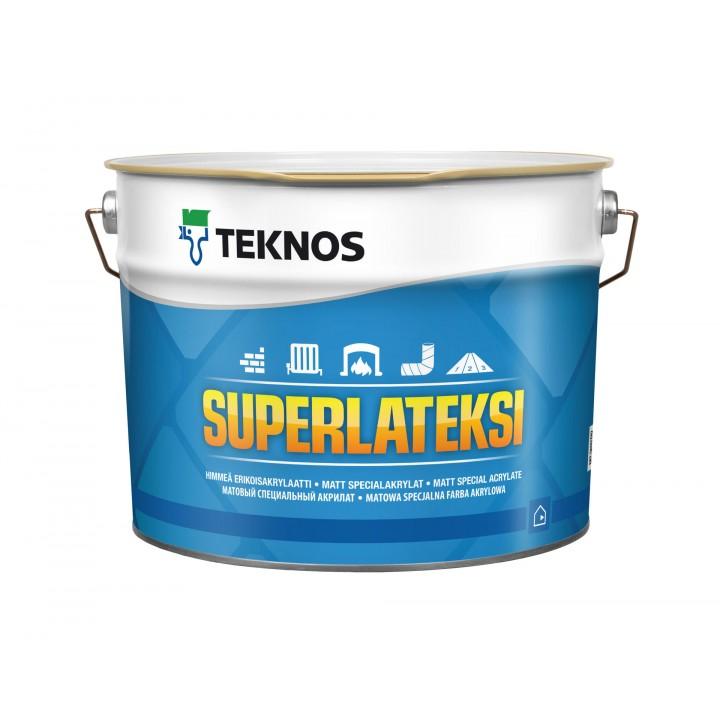 TEKNOS SUPERLATEKSI краска для стен и потолков