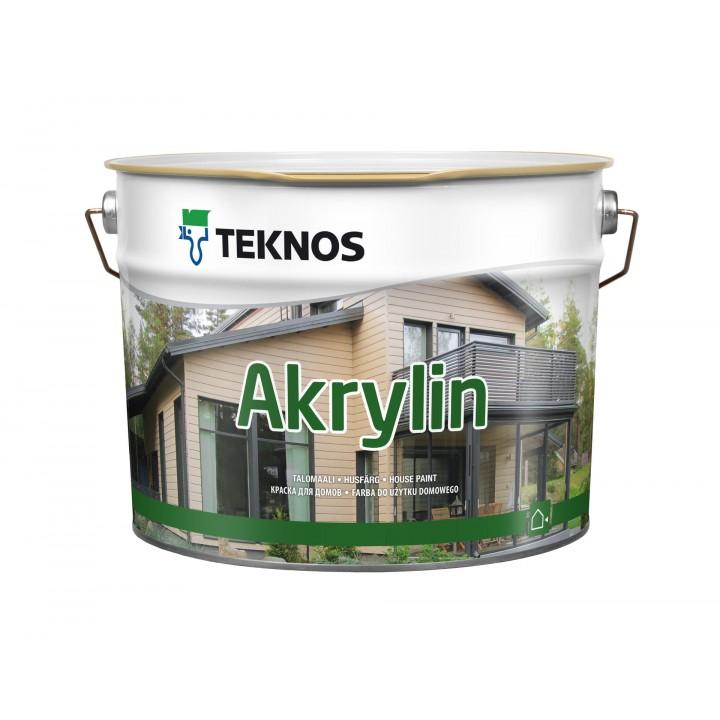 TEKNOS AKRYLIN краска для домов