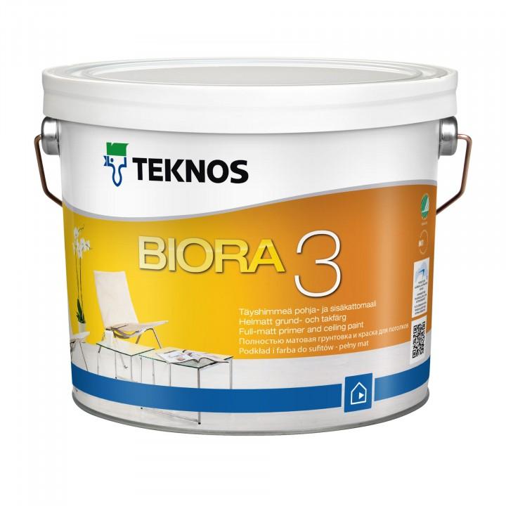 TEKNOS BIORA 3 краска для потолков