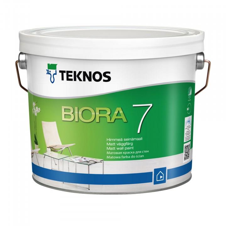 TEKNOS BIORA 7 краска акрилатная для стен